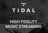 TIDAL Streaming musique va t-il manger SPOTIFY et DEEZER ?