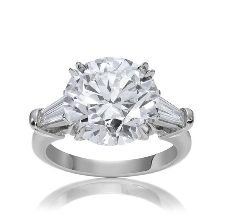 classic harry winston round brilliant cut ring - Harry Winston Wedding Rings