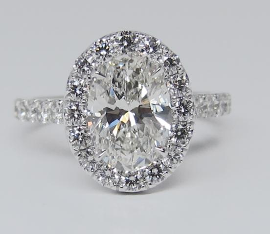 Micro Pave Engagement Rings Harry Winston