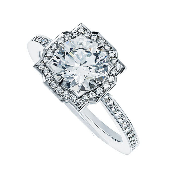 pave engagement rings harry winston - Harry Winston Wedding Rings